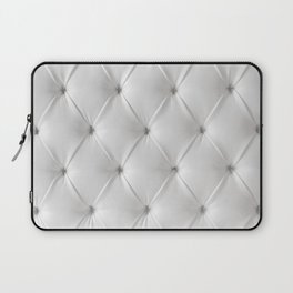 white chesterfield Laptop Sleeve