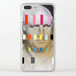 Composition 552 Clear iPhone Case