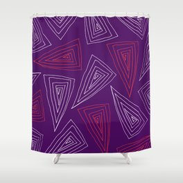 Flagstaff - color Shower Curtain
