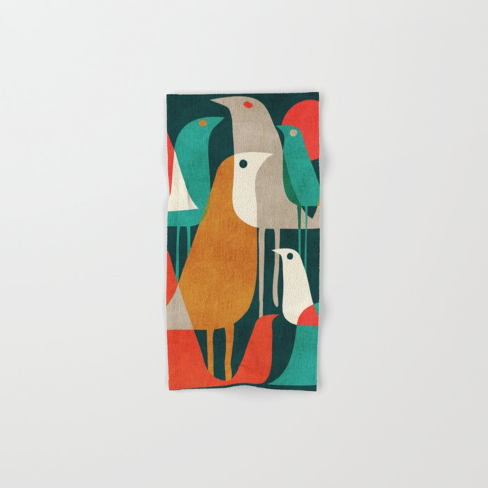 Flock of Birds Hand & Bath Towel