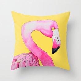 Slinky Flaminky Throw Pillow