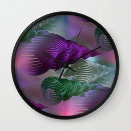 spiral art seamless Wall Clock