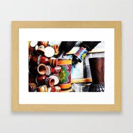 Musical Instrument Framed Art Print