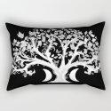 The Zen Tree - White on Black by darkdecors