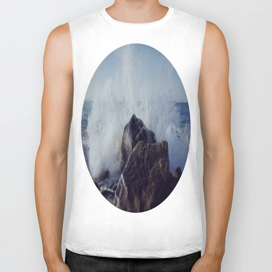 Make mine with a splash of water on the rocks Biker Tank