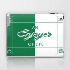 An Enjoyer of Life Laptop & iPad Skin