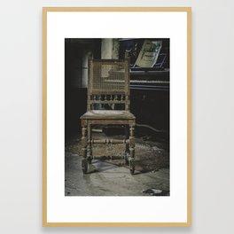 Muse and Elegance Framed Art Print