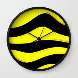 Hot Wavy B Wall Clock