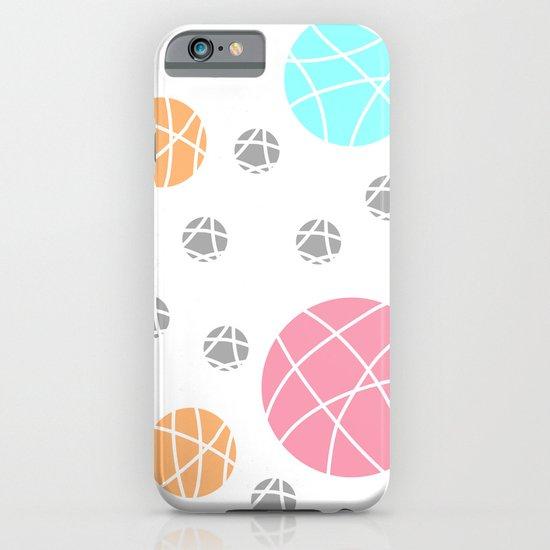 Broken Orbs (ColorOnWhite) iPhone & iPod Case