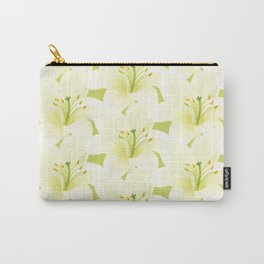 Wedding Lily Carry-All Pouch