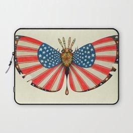 patriot moth (ORIGINAL SOLD). Laptop Sleeve
