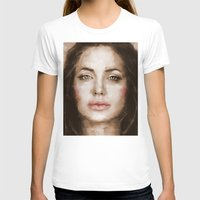 angelina jolie T-shirts featuring Jolie by Dnzsea