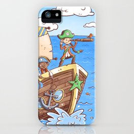 Even Pirates Need to Listen iPhone Case