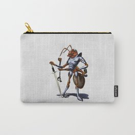 Soldiering On (wordless) Carry-All Pouch