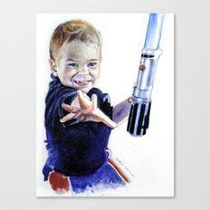 Young Jedi Rowan Canvas Print