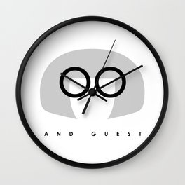 Edna Mode AND GUEST Wall Clock