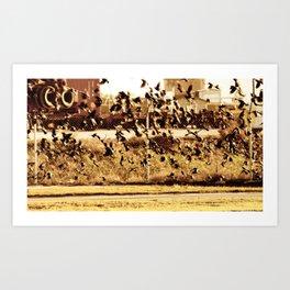 Lets Bebop 2 Art Print
