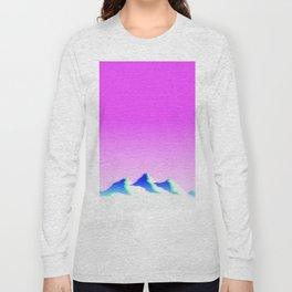 Mountain Aesthetic 1 Long Sleeve T-shirt