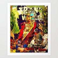 david olenick Art Prints featuring David by Lanny Quarles