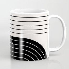 Two Tone Line Curvature VIII  Coffee Mug