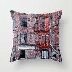 WAREHOUSE Throw Pillow