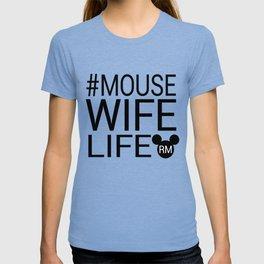 #MOUSEWIFELIFE BLACK T-shirt