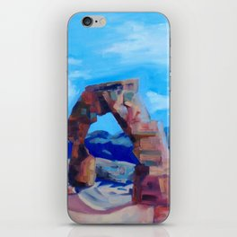 The Delicate Arch  iPhone Skin