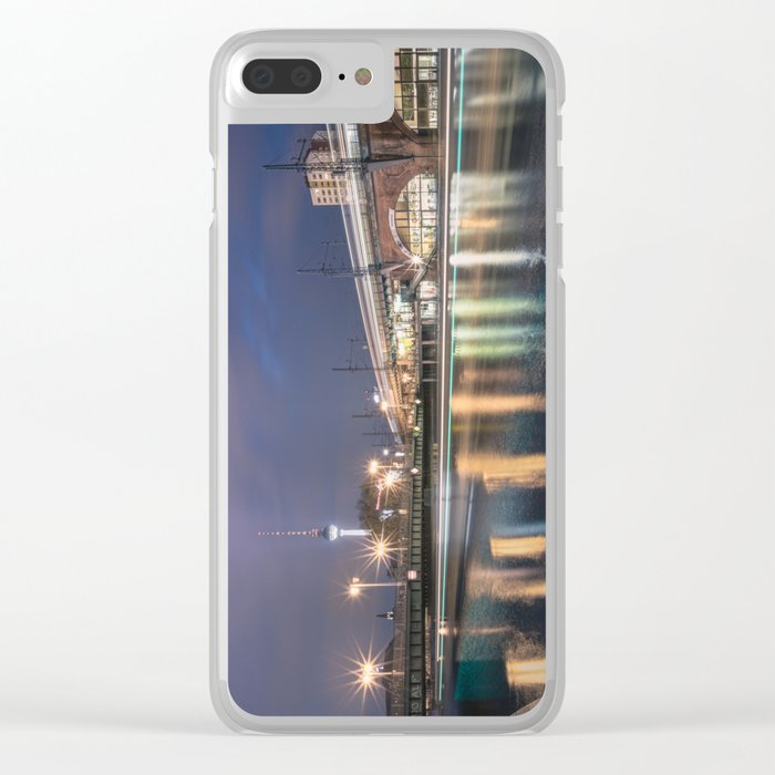 Berlin Jannowitzbrücke Clear iPhone Case