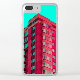 The Red Building Clear iPhone Case