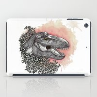 dinosaur iPad Cases featuring Dinosaur by Gemma Goode