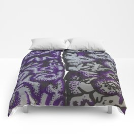 Purple Brains or I have a lot on my mind... Comforters