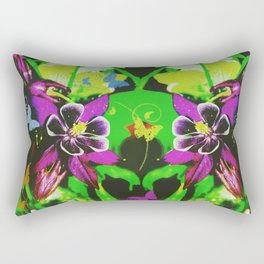Butterfly garden Rectangular Pillow