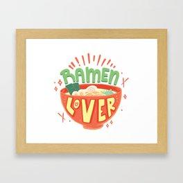 Ramen Lover Framed Art Print