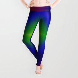 Rainbow Gradient Diamond Geometric Leggings