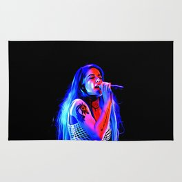 Halsey - Celebrity Paint Art Rug