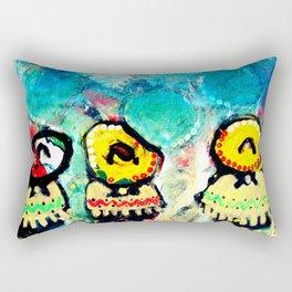Tres Amigos Rectangular Pillow