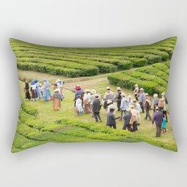 Tea gardens Rectangular Pillow