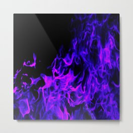 Up In Flames Metal Print