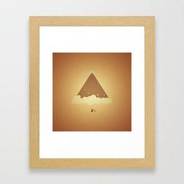 Ventures: Mountains Framed Art Print