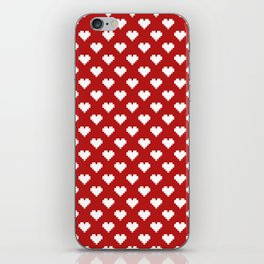 Valentine's Day Pattern iPhone Skin