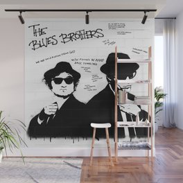 The Blues Brothers Wall Mural