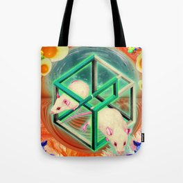Life, as many people have spotted, is, of course, terribly unfair. Tote Bag