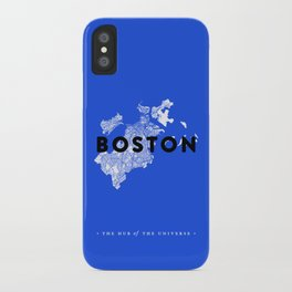 Boston Map iPhone Case