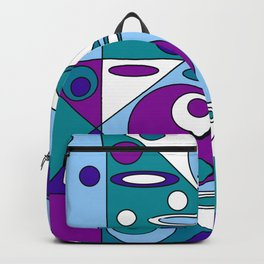Geometrical Circles and Ellipses Backpack