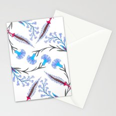 fleurs anciennes 2 Stationery Cards