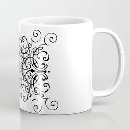 Figure Eight Scrollwork Coffee Mug
