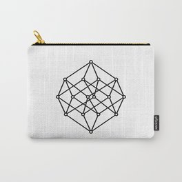 black line, prism art , wallpaper , case for iphone Carry-All Pouch