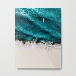 sea view #society6 #buyart #homedecor Metal Print