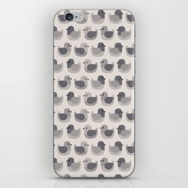 Cute Simple Pigeons iPhone Skin