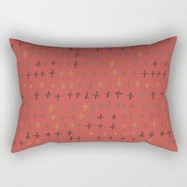 William Johnson : Graveyard Rectangular Pillow